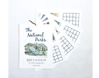 2018- Edition #2 National Park Calendar
