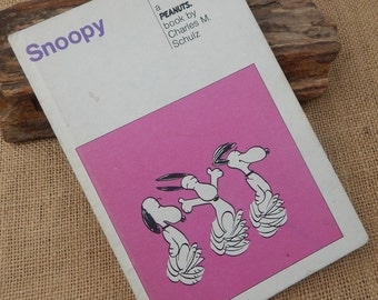 Snoopy  A PEANUTS Book by Charles M. Schulz  Copyright 1958