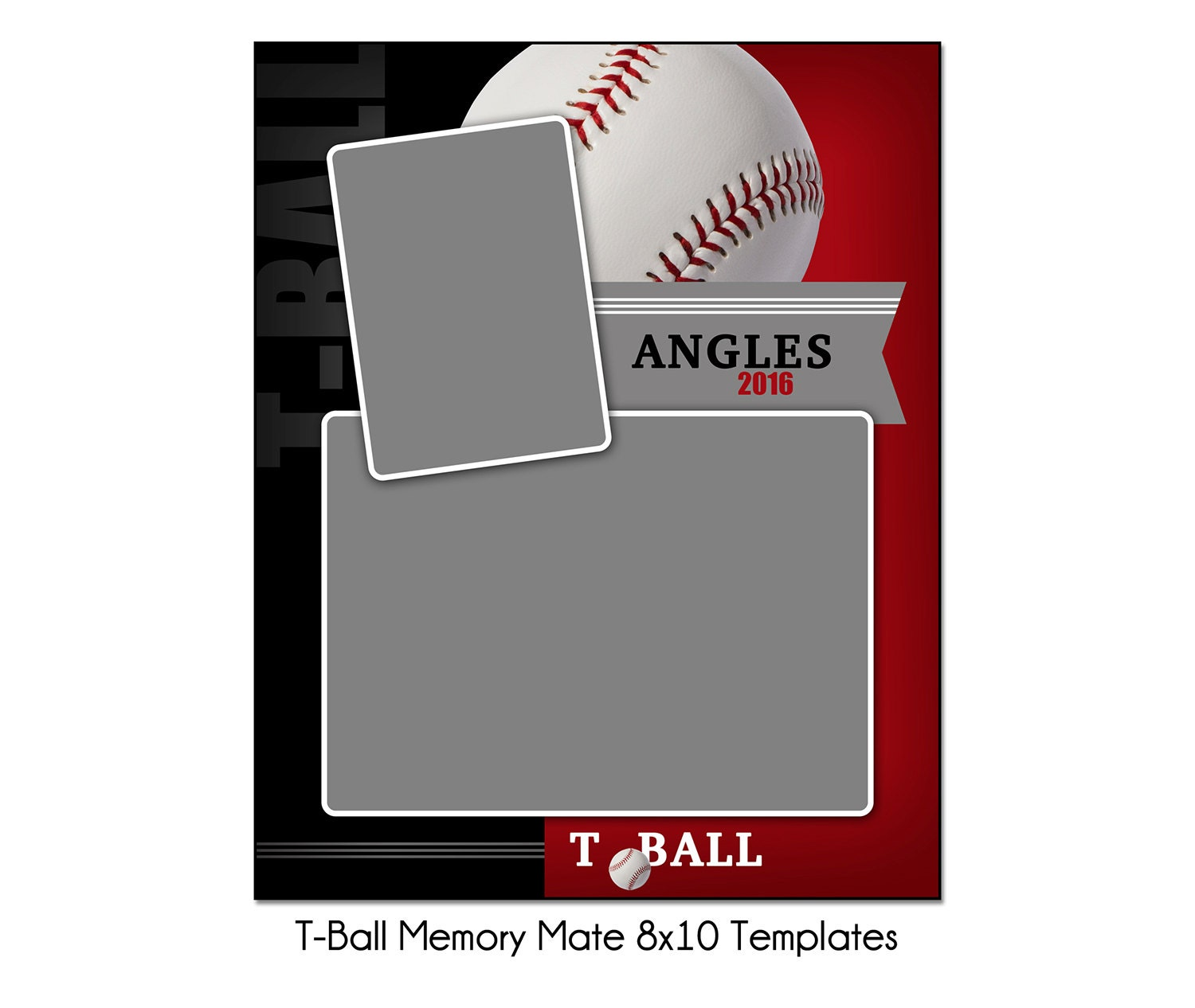 t ball mm2 8x10 memory mate sports photo template digital file from katieanndesigns on etsy. Black Bedroom Furniture Sets. Home Design Ideas