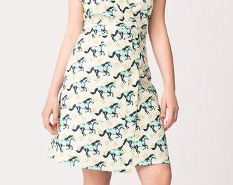 Horse Wrap Dress on Sale