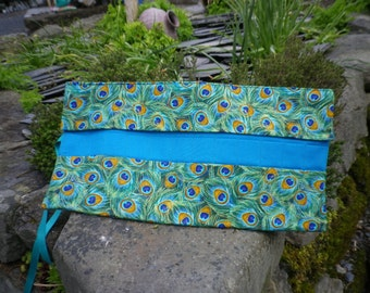 Crochet Hook Case. Double pointed needle roll.