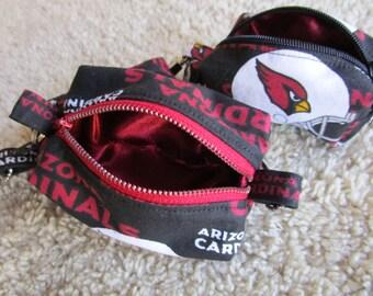 Arizona Cardinals Teeny Tiny Zipper Pouch