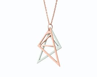 diamond necklace copper