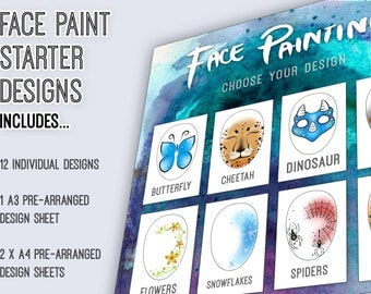 Face Paint Designs: Starter Pack