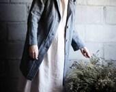 LINEN / WOOL work coat