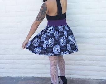 Frankenstein, Horror, Mummy, Scary,  Nerd, Geek, Skirt, Pinup inspired