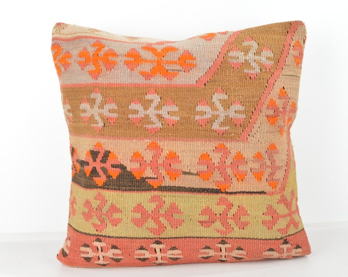 Wool Pillow, Kilim Pillow, KP1080,  Decorative Pillows, Designer Pillows,  Bohemian Decor, Bohemian Pillow, Accent Pillows, Throw Pillows