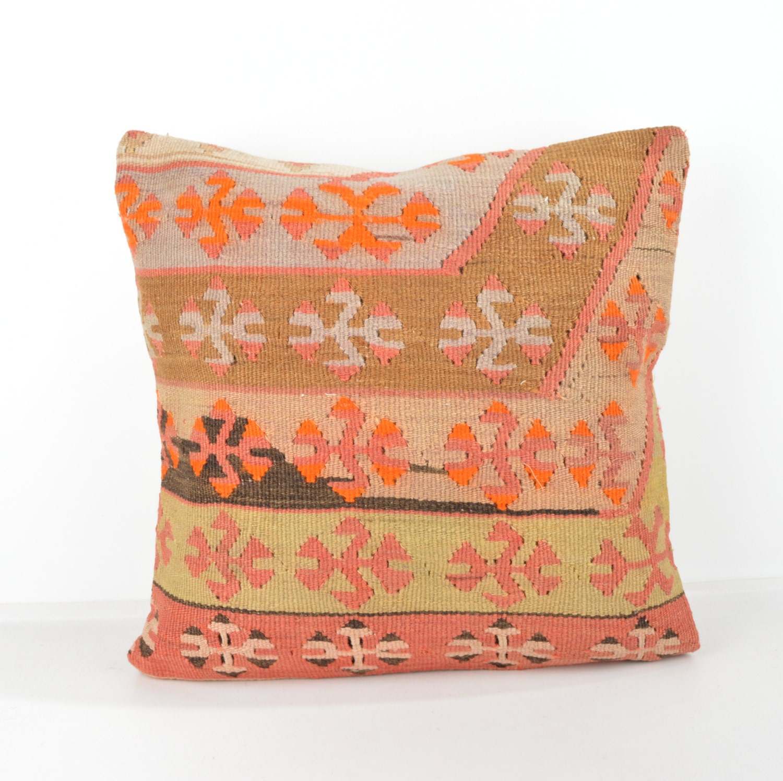 Wool Pillow, Kilim Pillow, KP1080, Decorative Pillows, Designer Pillows, Bohemian Decor ...