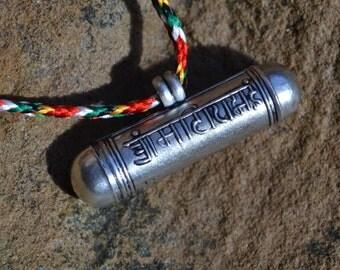 Charming little Tibetan ghau box amulet  GH015
