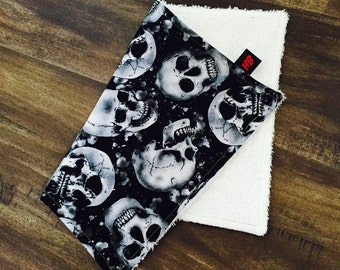 Skull Sweat Rag // Face Cloth // Skulls //