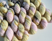 sparkle {sock} | ONCE UPON a TIME | ready to ship | hand dyed yarn | merino nylon stellina