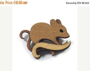SALE Mouse Brooch