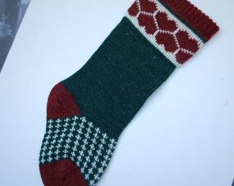 Vintage Christmas Stocking