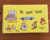 Vintage My School Things / School Box / Pencil Box circa 1979