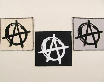 One Anarchy patch....FREE SHIPPING USA