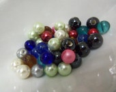 Assorted Beads. Set of 50 Assorted Beads.