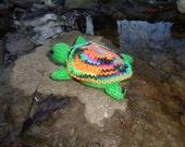 Topsy Turvy Turtle (Neon Brights)