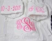 Bride Shirt,Button Down Bride Shirt, Wedding Day Shirt, Getting Ready Shirts, Monogrammed Shirt, Over Size Shirt, I Do Shirt