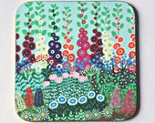 Country Garden Coaster - single