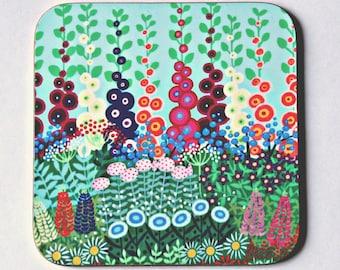 Country Garden Coaster - single