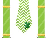 St. Patrick's Day Lucky Tie Set Digital Download for iron-ons, heat transfers, T-Shirts, Onesies, Bibs, Towels, Aprons, DIY YOU PRINT