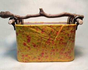 Ceramic Basket Pot