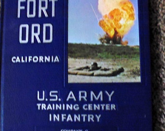 Fort Ord US Army Training Center yearbook, Company C, 5th Battalion, 3rd Brigade, 1966 training, basic training, army yearbook, Vietnam era