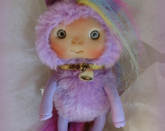 Unicorn Little Pony  Horse Fantasy Doll, Magic  Christmas Stocking Staffers , Little Toy Christmas Stocking Filler, Cute Baby Doll