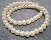 Pearl Necklace Party Necklace Pearl Jewelry Natural Color Short Necklace Vintage Style Jewelry