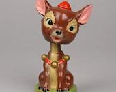 Vintage Donkey Novelty Nodder, Made In Japan, Paper Mâché, Perhaps Dominic the Donkey Kitschmas