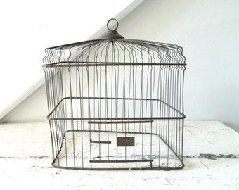 Vintage Bird Cage Wire Hendryx