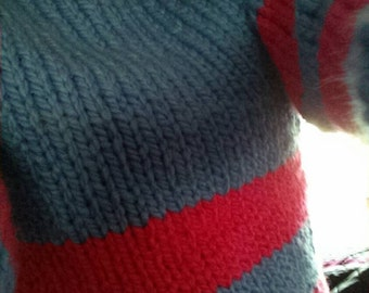 NEW - Frisk Sweater - Undertale - Women's sizing - S M L - Made to Order