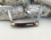 Vintage Pocket Knife Old Timer Pocket Knife Schrade Cutlery 108 OT A Knife Like Grandad's 1980