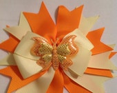 Large Bow/Baby Hair Bow/Grosgrain Ribbon/Hair Bow