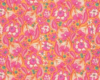 Chipper - Wild Vines in Sorbet - Tula Pink for Free Spirit Fabrics - PWTP079.SORB - 1/2 yard