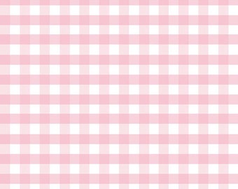 Riley Blake Designs - Gingham Pink in Double Gauze - G588-PINK - 1/2 Yard