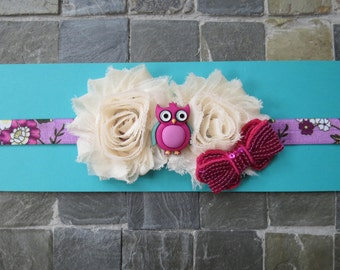 Toddler/Child - Elastic headband - Ottilie the Owl