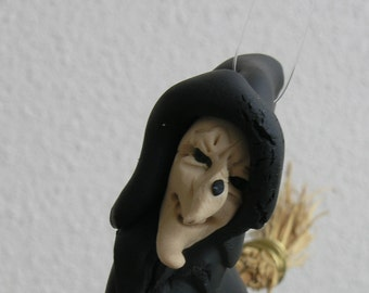 Halloween. Witch doll.  Funny Halloween. Halloween gift.