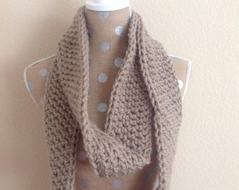 Infinity Scarf - Taupe