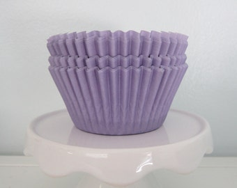 Lavender ~ Pastel ~ Bakebright ~ Cupcake Liners ~ Cupcake Papers ~ Set of 50