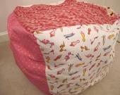 Bean Bag Storage Chair for Stuffed Animals - Custom!