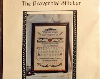 Cross Stitch Kit: The Proverbial Stitcher