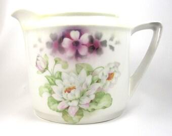 Vintage German Porcelain Pitcher