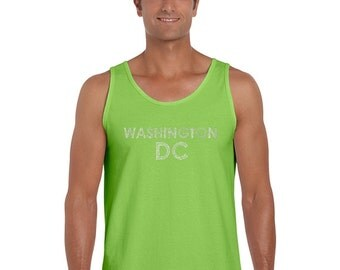 Men's Tank Top - WASHINGTON DC NEIGHBORHOODS