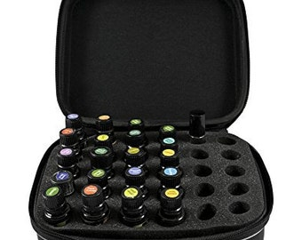 Essential Oil Travel Case - Holds 30 bottles safely and secure for travel