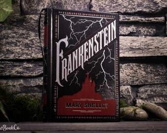 Hollow Book Safe - Frankenstein - Mary Shelley (LEATHERBOUND)