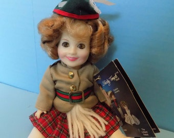 Shirley Temple Wee Willie Winkie Doll