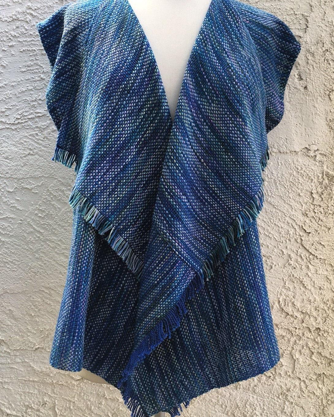 Judi Vest Pdf Weaving Pattern For 15 Rigid Heddle Loom