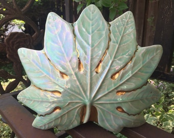 Green Leaf Lamp TV lamp 60's