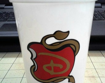 DISNEY DESCENDANTS CUPS (set of 5)